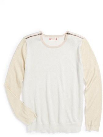 Ruby & Bloom 'Glitzy' Sweater (Big Girls)