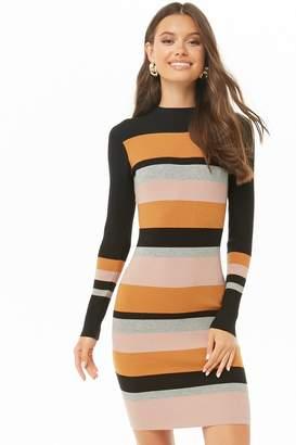 Forever 21 Colorblock Mini Dress