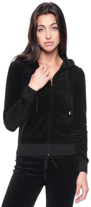 Juicy Hood Gothic Velour Robertson Jacket