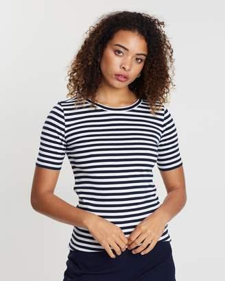J.Crew Perfect Fit Striped T-Shirt