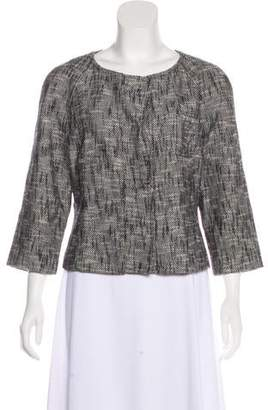 Magaschoni Textured Cropped Jacket