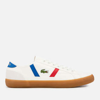 534d12147cbb Lacoste Men s Sideline 119 2 Canvas Trainers