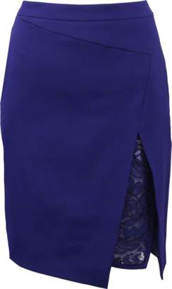 J. Mendel Knee Length Asymmetrical Skirt