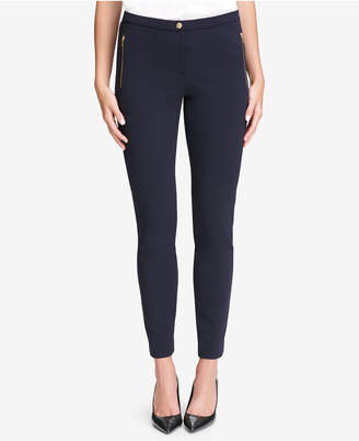 Calvin Klein Petite Zip-Pocket Pants