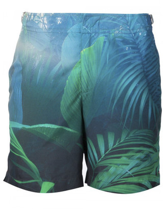 Orlebar Brown Orlebar Brown x Gieves & Hawkes 'Into the Jungle' swim shorts $345 thestylecure.com
