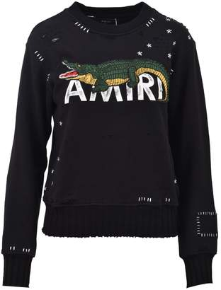 Amiri Alligator Sweater