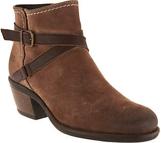 Bos. & Co. Water Resistent Suede Ankle Boots -Greenville