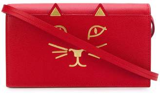 Charlotte Olympia kitty crossbody bag