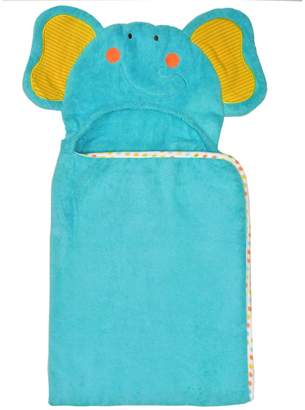 Neat Solutions 100% Cotton Woven Terry Hooded Bath Towel for Kids, Friendly