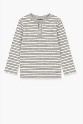 Country Road Stripe Waffle Henley