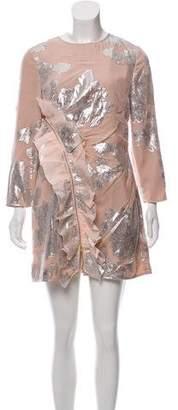 Self-Portrait Brocade Silk Dress w/ Tags