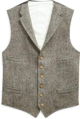 Ralph Lauren Wool Herringbone Vest