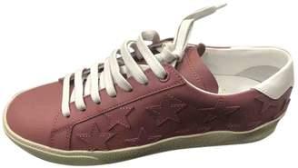 Saint Laurent Leather trainers