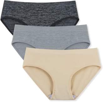 6668c253815c INNERSY Women's Seamless Underwear Hi Cut Briefs Panties 3 Pack(XS, )