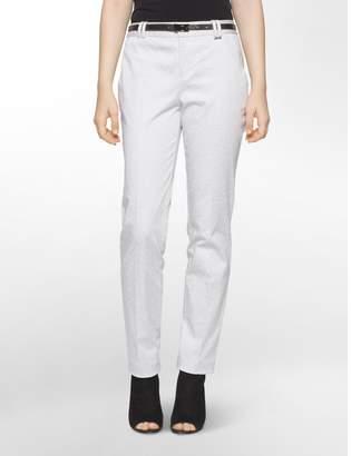 Calvin Klein essential skinny stone print belted pants