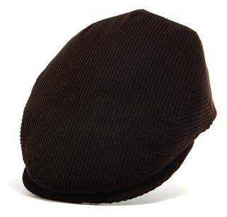 Lock & Co Hatters Lock and Co Corduroy Drifter Cap in Brown