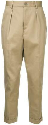 Yoshio Kubo Yoshiokubo straight-leg trousers