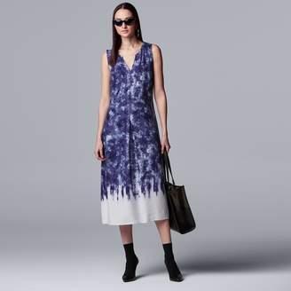 Vera Wang Women's Simply Vera Easy Rayon Challis Dress