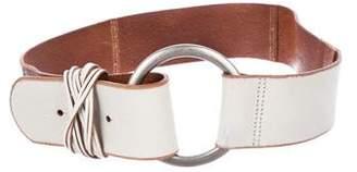 Linea Pelle Leather Wide Belt