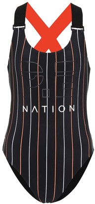 P.E Nation The West Port reversible swimsuit