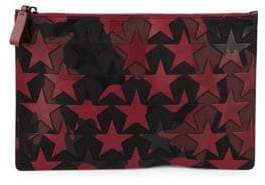 Camouflage Star-Patched Pouch