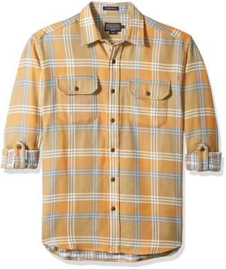 Pendleton Men's Long Sleeve Classic-Fit Fairbank Double Faced Shirt