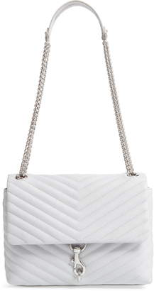 Rebecca Minkoff Edie Metallic Leather Shoulder Bag