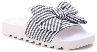 Not Rated Hideaway Bow Slide Sandal - Women's
