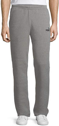 Puma Open Bottom Fleece Pants