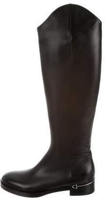Gucci Horsebit Knee-High Riding Boots w/ Tags