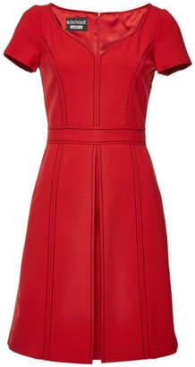 Moschino Mini Dress with Virgin Wool