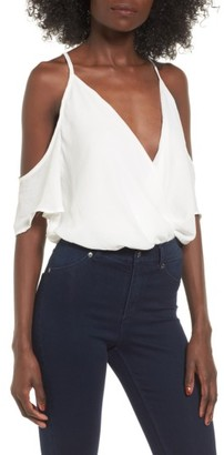 Women's Leith Off The Shoulder Bodysuit $45 thestylecure.com
