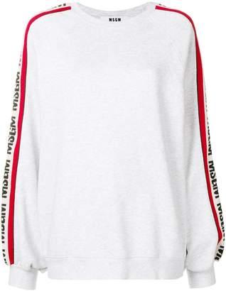 MSGM logo jersey sweater