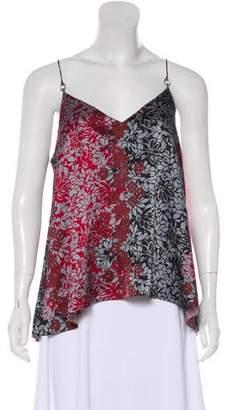 Cinq à Sept Floral Silk Camisole Top