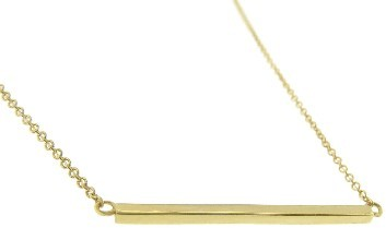 Jennifer Meyer Yellow Gold Stick Necklace