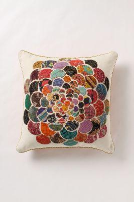 Anthropologie Orimono Pillow, Flower
