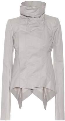 Rick Owens Naska linen and cotton jacket