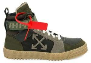 Off-White Industrial Belt High-Top Sneakers