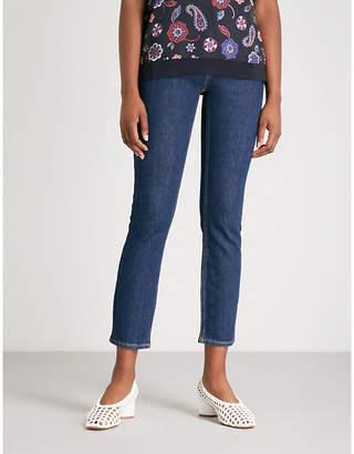 Claudie Pierlot High-waisted stretch-denim jeans