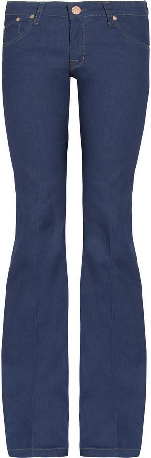 Victoria Beckham Denim Mid-rise bootcut jeans