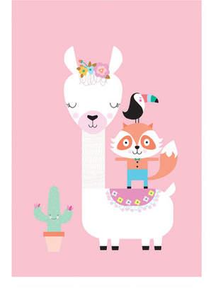 Lulu Llama Modern Printed Wall Art