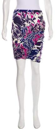 Emilio Pucci Silk Print Mini Skirt w/ Tags