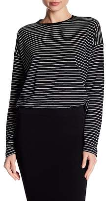 Vince Long Sleeve Relaxed Stripe Tee
