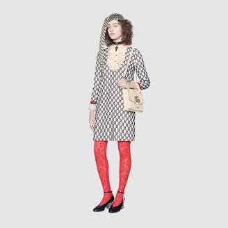Gucci Short GG macramé dress
