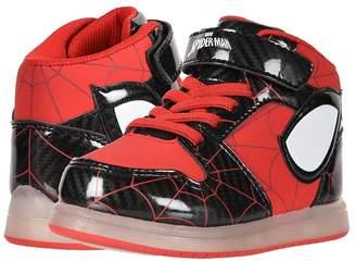 Favorite Characters SPF365 Spidermantm Motion Lights Hi Top Boy's Shoes