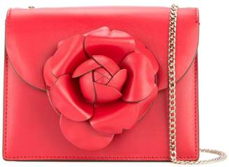 ffd6c16361 ... Oscar de la Renta 18SH2006CLFRUB RUBY Leather Fur Exotic Skins- Calf  Leather