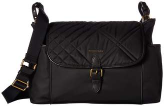 Burberry Flap Diaper Bag