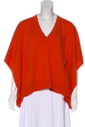Michael Kors Cashmere Knit Sweater Orange Cashmere Knit Sweater