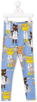 Mini Rodini Cheer Cats leggings