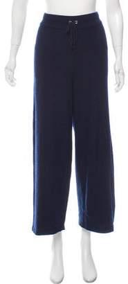 Chanel Wide-Leg Cashmere Pants